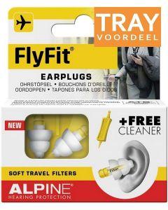 ALPINE FLYFIT EARPLUGS OORDOPJES TRAY 6 X 2 STUKS
