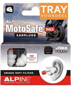 ALPINE MOTOSAFE RACE OORDOPJES TRAY 6 X 2 STUKS