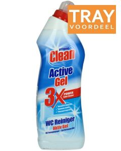 AT HOME CLEAN ACTIVE GEL WC REINIGER TRAY 12 X 750 ML