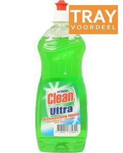 AT HOME CLEAN ULTRA REGULAR AFWASMIDDEL TRAY 12 X 500 ML