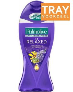 PALMOLIVE SO RELAXED SHOWER GEL DOUCHEGEL TRAY 12 X 650 ML