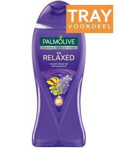 PALMOLIVE AROMA SENSATIONS SO RELAXED SHOWER GEL DOUCHEGEL TRAY 12 X 500 ML