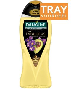 PALMOLIVE JUST FABULOUS SHOWER GEL DOUCHEGEL TRAY 12 X 500 ML
