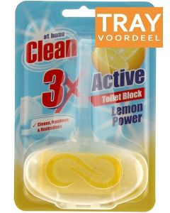 AT HOME LEMON TOILETBLOK DOOS 24 X 40 GRAM